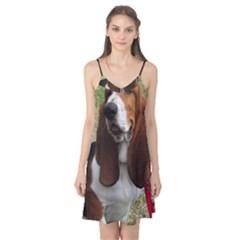 Basset Hound Sitting  Camis Nightgown