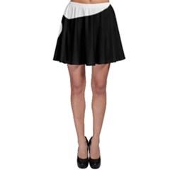 Cocker Spaniel Silo  Skater Skirt