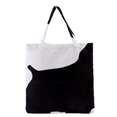 Cocker Spaniel Silo  Grocery Tote Bag