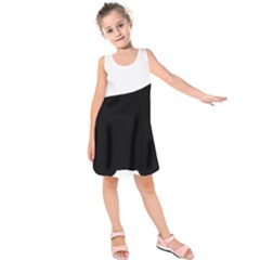 Cocker Spaniel Silo  Kids  Sleeveless Dress