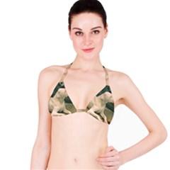 Dogo Argentino Laying  Bikini Top