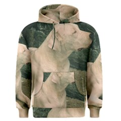 Dogo Argentino Laying  Men s Pullover Hoodie