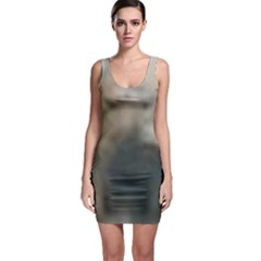 Whippet Brindle Eyes  Sleeveless Bodycon Dress