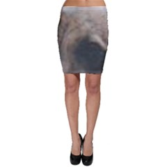 Whippet Brindle Eyes  Bodycon Skirt