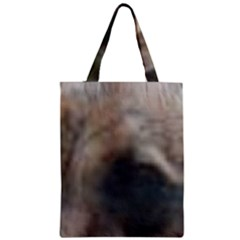 Whippet Brindle Eyes  Zipper Classic Tote Bag