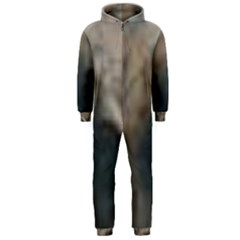 Whippet Brindle Eyes  Hooded Jumpsuit (Men)