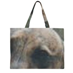 Whippet Brindle Eyes  Large Tote Bag