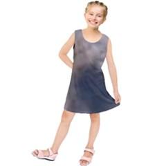 Whippet Brindle Eyes  Kids  Tunic Dress