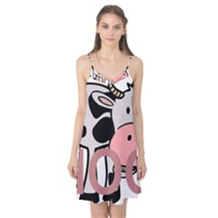 Moo Cow Cartoon  Camis Nightgown