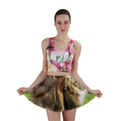 Norwegian Forest Cat Full  Mini Skirt