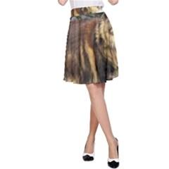 Norwegian Forest Cat Full  A-Line Skirt