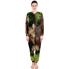 Norwegian Forest Cat Full  OnePiece Jumpsuit (Ladies)