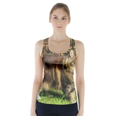 Norwegian Forest Cat Full  Racer Back Sports Top