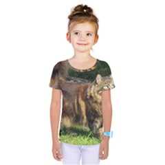 Norwegian Forest Cat Full  Kids  One Piece Tee