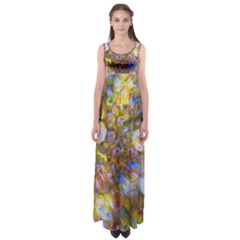 And The Suns Poured In  by WBK: Empire Waist Maxi Dress