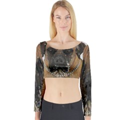 Boerboel  Long Sleeve Crop Top