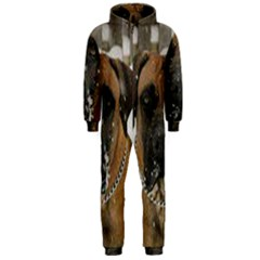 Boerboel  Hooded Jumpsuit (Men)