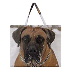 Boerboel  Zipper Large Tote Bag