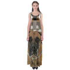 Boerboel  Empire Waist Maxi Dress