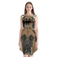 Boerboel  Sleeveless Chiffon Dress