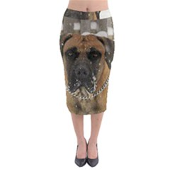 Boerboel  Midi Pencil Skirt