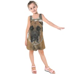 Boerboel  Kids  Sleeveless Dress