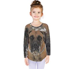 Boerboel  Kids  Long Sleeve Tee