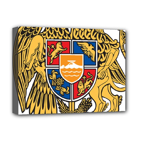 Coat of Arms of Armenia Deluxe Canvas 16  x 12