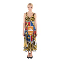 Coat of Arms of Armenia Sleeveless Maxi Dress