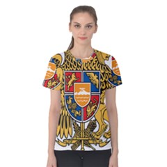 Coat of Arms of Armenia Women s Cotton Tee