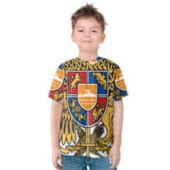 Coat of Arms of Armenia Kids  Cotton Tee