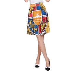 Coat of Arms of Armenia A-Line Skirt