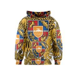 Coat of Arms of Armenia Kids  Pullover Hoodie