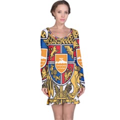 Coat of Arms of Armenia Long Sleeve Nightdress