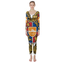 Coat of Arms of Armenia Long Sleeve Catsuit