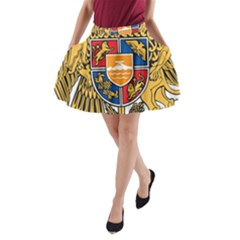 Coat of Arms of Armenia A-Line Pocket Skirt