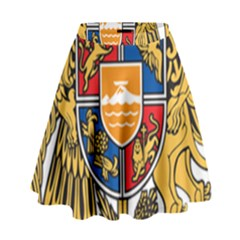 Coat of Arms of Armenia High Waist Skirt