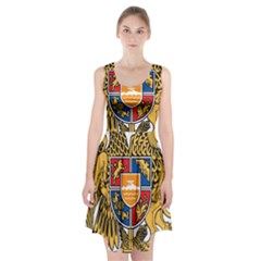 Coat of Arms of Armenia Racerback Midi Dress