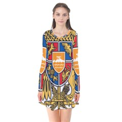 Coat of Arms of Armenia Flare Dress