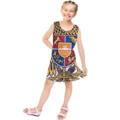 Coat of Arms of Armenia Kids  Tunic Dress