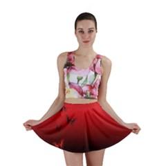 Lepidopteran Mini Skirt
