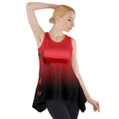 LEPIDOPTERAN Side Drop Tank Tunic
