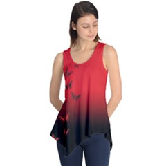 LEPIDOPTERAN Sleeveless Tunic
