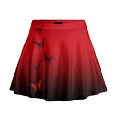 LEPIDOPTERAN Mini Flare Skirt