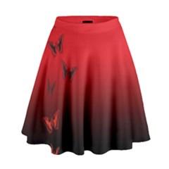 LEPIDOPTERAN High Waist Skirt