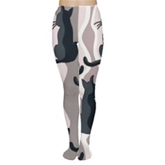 Elegant cats Women s Tights