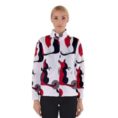 Elegant abstract cats  Winterwear