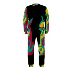 Colorful abstract cat  OnePiece Jumpsuit (Kids)