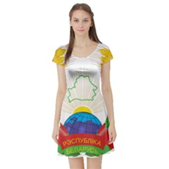 Coat of Arms of The Republic of Belarus Short Sleeve Skater Dress