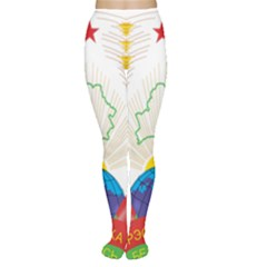 Coat of Arms of The Republic of Belarus Women s Tights